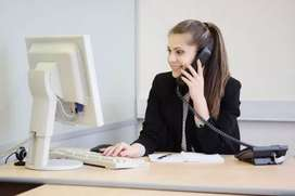Front office Lady Receptionist