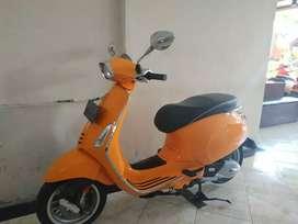 Sprint orange 2016 iget Samsat baru jual Vespa Sanur Bali