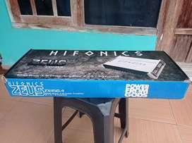 Power amplifier Hifonics zeus 1200w