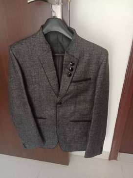 Grey black blazer in new condition, only wore once
