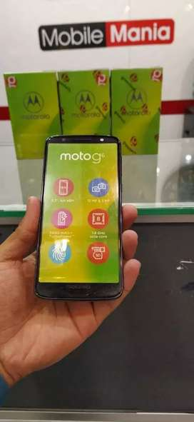 Motorola G6 4GB 64GB Boxed Packed 1 Year Warranty