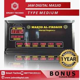 Dijual Jam Digital Masjid Type Medium (Harga Pantas)   Sumatra Barat