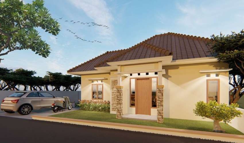 Rumah type 40/100 harga 357 juta di Tempel Sleman