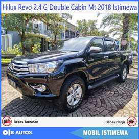 Hilux Revo G DC mt 2018 Orisinil ISTIMEWA