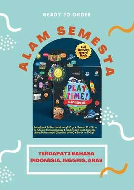READY!! [LIMITED ITEM] PLAY TIME ALAM SEMESTA BOARD BOOK