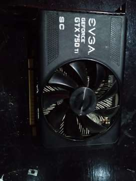 Gaming card gtx 750 tu 2 gb ddr5 128bits
