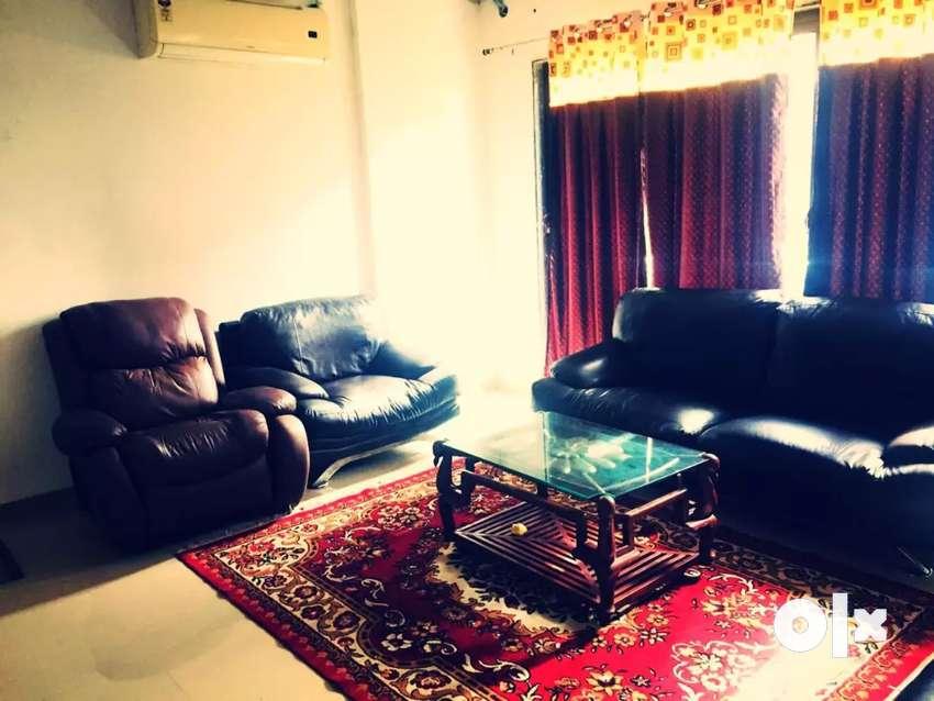 3 BHK flat on rent near Anand Mahal Road Adajan Surat 0