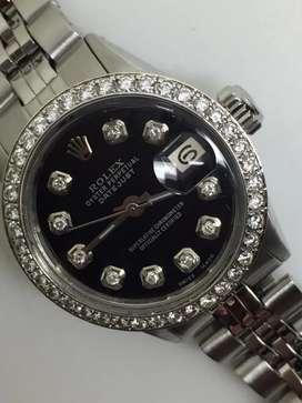 Promo Rolex ladies diamond bezel dial