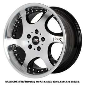 Velg mobil mercy BAVARIA JD9016 HSR Ring.17 bisa buat Ertiga BRV HRV