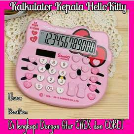 kalkulator kepala hello kitty