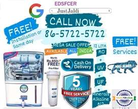 EDSFCER WATER PURIFIER AC DTH WATER FILTER RO .  FREE PRE FILTER AND F