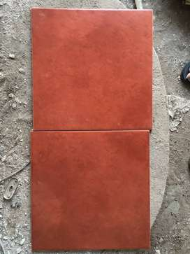 Rustic Vitrified Terracotta tiles (Quantity-18 boxes, 12 pieces each)