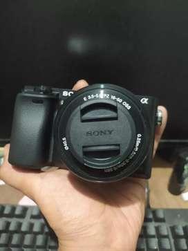 Sony a6000+lensa kit jual murah