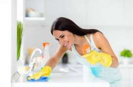 all home work exparence house maid, babycare , cooking , housekeeping