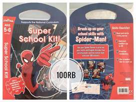JUAL Super School Kit Spiderman Buku Impor Aktivitas