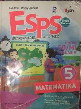 Buku ESPS Matematika Kelas 5