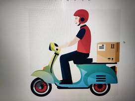 COURIER DELIVERY BOY NEEDED (WELL KNOWN SRIMUSNAM  AREA)