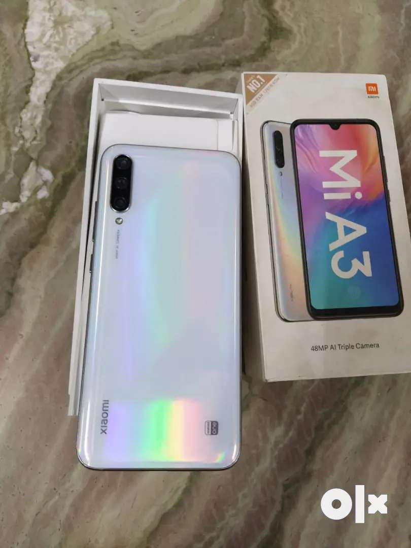 Mi a3 white colour