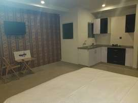 Stayflix 2Bed studio in Bahria town, furnished + Kitchen + wifi