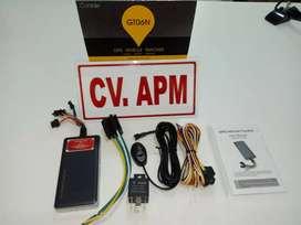Paket murah GPS TRACKER gt06n lacak posisi kendaraan, plus server