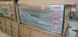 Pizza oven seven star 2 year garranty we hve fastfood machinery