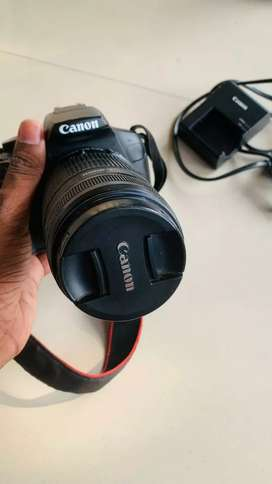 Canon Eos 1300D with 55-250mm zoom lens