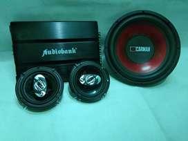 Paket Audio Bass Mantap