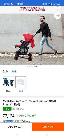 Mee Mee stroller pram