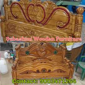 Good wood work wooden furniture wooden cot for sale