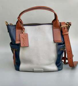Tas Fossil Emerson M Blue Multi