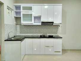 Diskon 20% kitchen set, minibar, lemari, wardrobe, backdrop tv