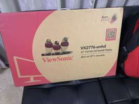 """ViewSonic VX2776-SMHD 27"""" inches IPS 1080p Frameless LED Monitor"""