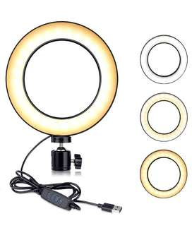 Ring Light for Professional Live Streaming,Youtube Videos And Makeup -