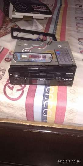 Music System multiple purpose Tape recorder or Bluetooth AUX pendrive