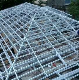 Renopasi atap baja ringan & plapon gipsum/pvc..
