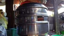 Dijual Klakat Kukus (panci kukus) 40x40 3 susun merk Global Eagle