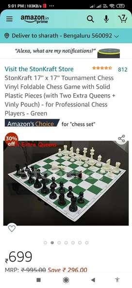 Chess .. international set