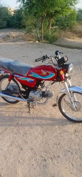 Honda cd 70 model 2019 with orignaal tape and tanki