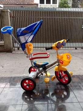 Sepeda anak family model capung