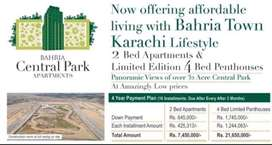 Great deals avaialble for central park behria town karachi chance deal