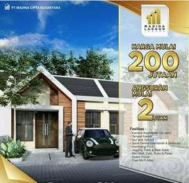 Rumah Minimalis Desain Mewah Type 38/75 Cash Back Dp Lokasi Strategis