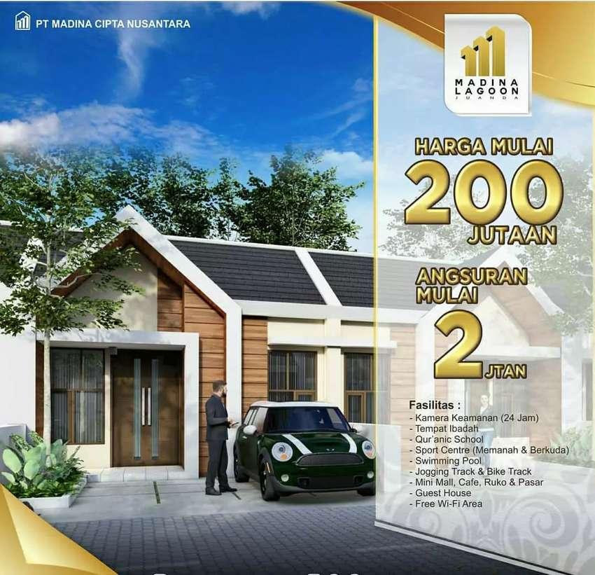Rumah Minimalis Desain Mewah Type 38/75 Cash Back Dp Lokasi Strategis 0
