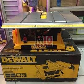 Table Saw Dewalt DWE7470 10 (254 Mm) Mesin Meja Potong Kayu