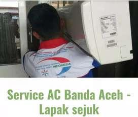 Servis / Service AC - KULKAS - MESIN CUCI - TV di Banda Aceh