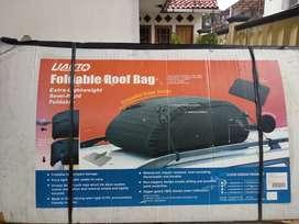 PAKET ROOF RACK. CROSS BAR & ROOF BAG MOBIL UNIVERSAL