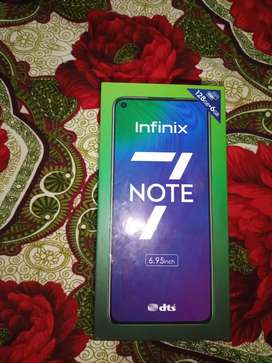 Infinix note 7 ha warrnty may ha argent seel karna