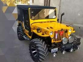 Jain Jeep motor garage