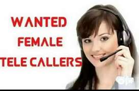 We are looking female Telecallers