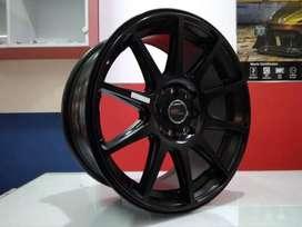 velg mobil hsr nsx ring 16x7 inch h8x100/1143 black