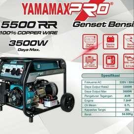 Genset Yamamax 5500RR max 3300 watt Genset Bensin 3000 watt